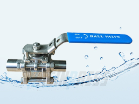 Welded  3pc Ball Valve